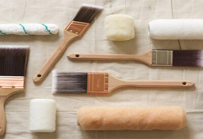Paint Brush And Roller Brush