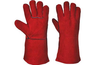 Red Welder Gloves