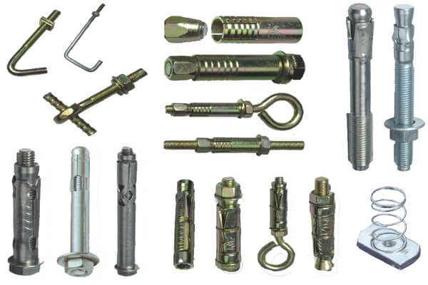 Anchor Fasteners| Bolt Pin Rawal Wedge - Dealers/Distributors/Importers in Chennai